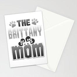 Brittany Mom Gift Dog Lover Dog Mom Gift Stationery Cards