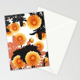DAHLIA SPIN Stationery Cards
