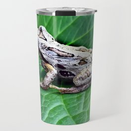 Northern Pacific Tree Frog - Pseudacris Regilla Travel Mug