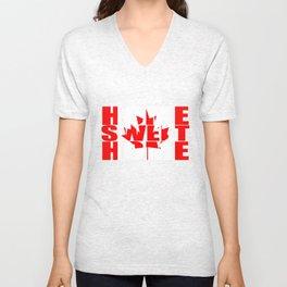 Home Sweet Home (Canada) Unisex V-Neck