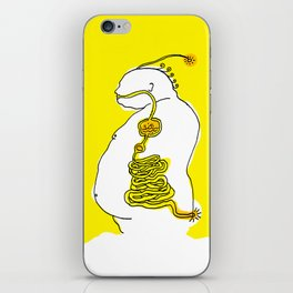 The fat guy iPhone Skin