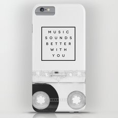 Music Sounds Better With You iPhone 6s Plus Slim Case
