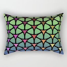 Triarcs Rectangular Pillow