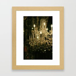 New Orleans Chandelier Framed Art Print