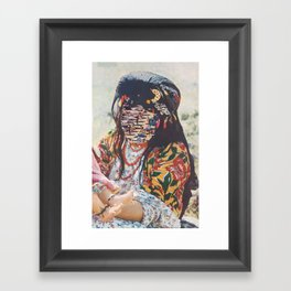 Looping State Of Mind Framed Art Print