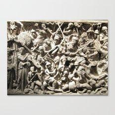 Roman Battle Canvas Print