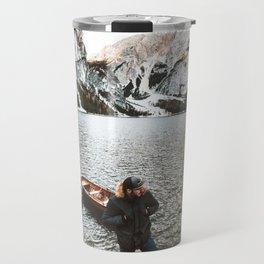 man at braies Travel Mug