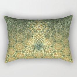 Lifeforms   Ancient geometry Rectangular Pillow