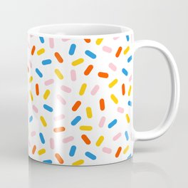Livin' It - abstract pattern minimal modern primary colors pantone gender neutral retro throwback Coffee Mug