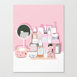 Sort of Obsessed Top Shelf Canvas Print