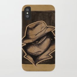 Anger Clouds The Mind iPhone Case