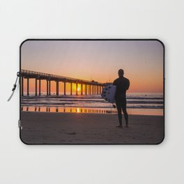 Scouting the Sunset Laptop Sleeve