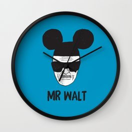 Mr. Walt Wall Clock