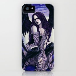 Star Light, Star Bright Sexy Gothic Angel iPhone Case