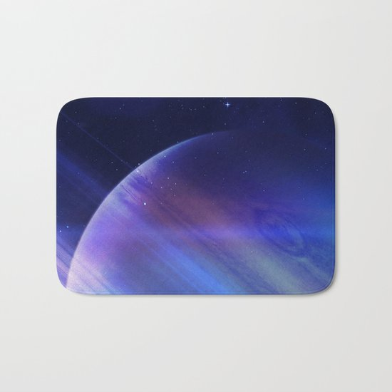 Secrets of the galaxy Bath Mat