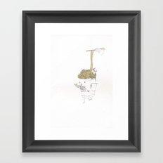 miss seafood Framed Art Print