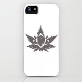 Cannalotus iPhone Case