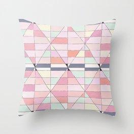 Sorbet Pinks Throw Pillow