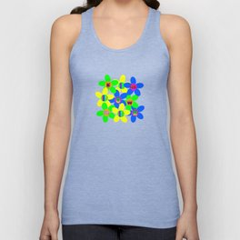 Flower Power 60s-70s Unisex Tank Top