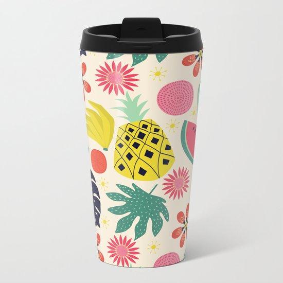 Tropicana  Metal Travel Mug