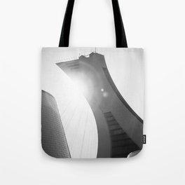 Minimalist Olympic Stadium Tote Bag