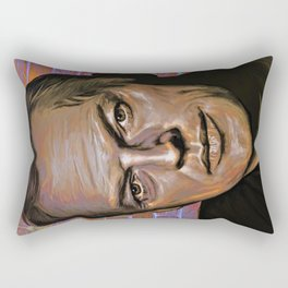 David Gilmour Rectangular Pillow