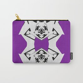 Dark Purple Scrunch Carry-All Pouch