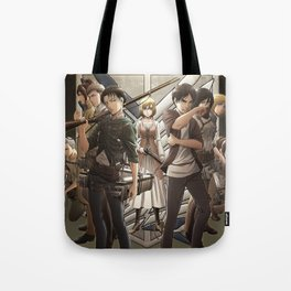 Attack on titan 3 Tote Bag