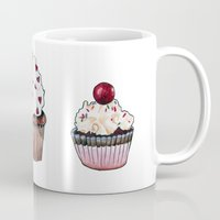 cupcakes Mugs featuring Cupcakes by Natalie Murray