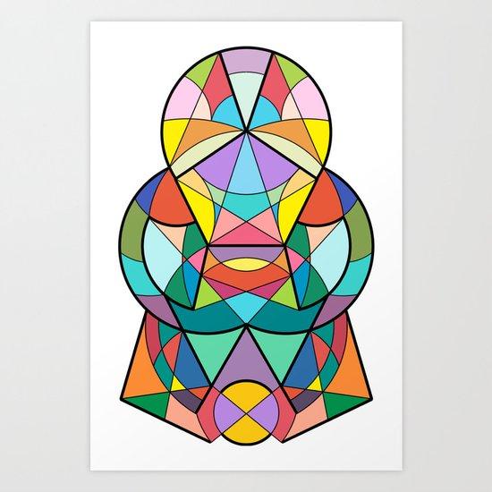 Xagon #3_1 - Tri Art Print