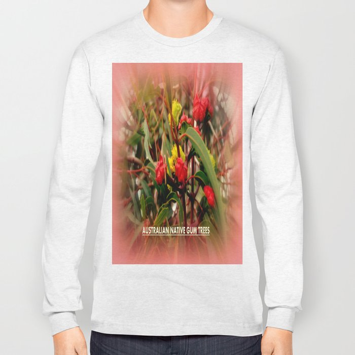 Australian Native Gum Trees Long Sleeve T-shirt