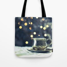 What Remains - Gold Tote Bag