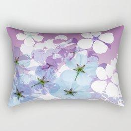 Almond Blossoms Violet 2 Rectangular Pillow