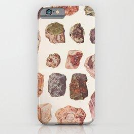 Vintage Gemstones iPhone Case