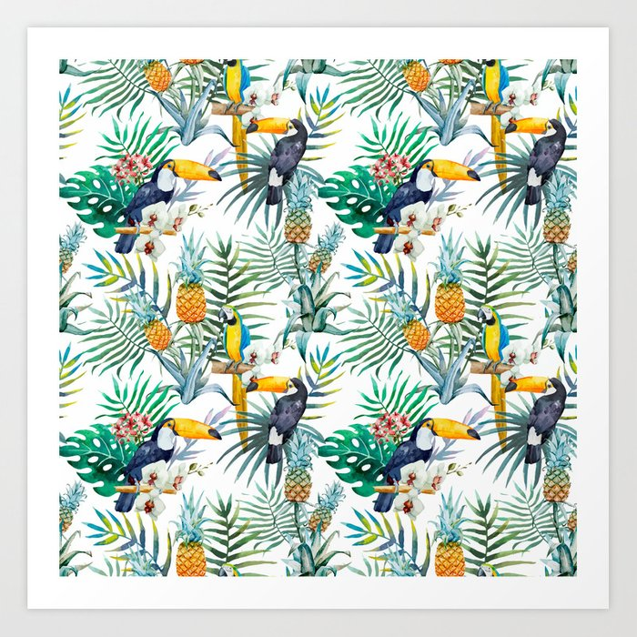 Parroted Art Print
