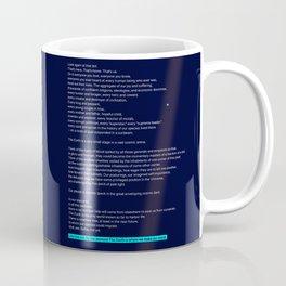 pale blue dot Coffee Mug