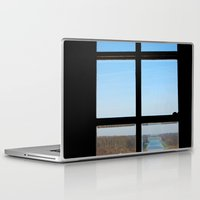 clear Laptop & iPad Skins featuring Clear by the insight city