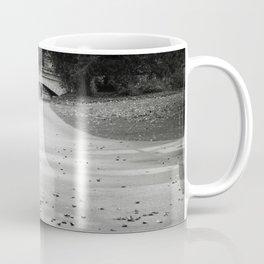 Black and white path Coffee Mug