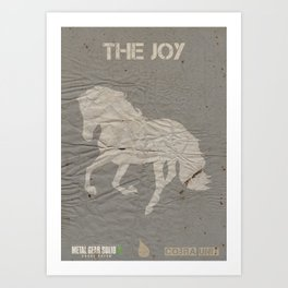 The Cobra Unit - The Joy Art Print