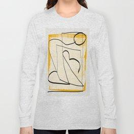 Abstract line art 4 Long Sleeve T-shirt