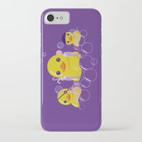 bathroom iPhone & iPod Cases featuring DANGERS OF THE BATHROOM by ketizoloto