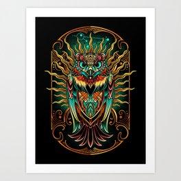 Sowl Keeper Art Print