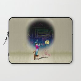 Make your own kind of music! Laptop Sleeve