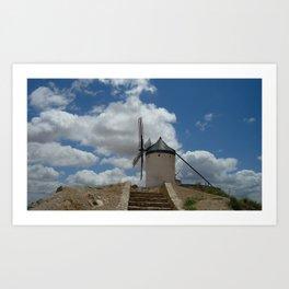 Quixote's Windmills Art Print