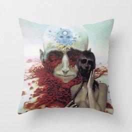 Blind Conspiracy  Throw Pillow