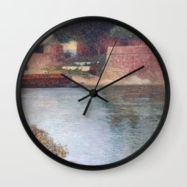 """Saint Peter Bridge"" by Henri-Jean Guillaume Martin Wall Clock"