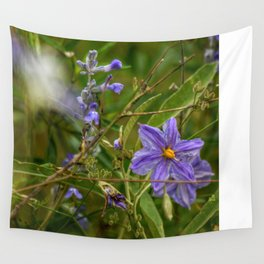 Flowers are life Wall Tapestry