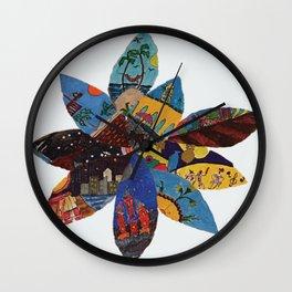 life petals Wall Clock