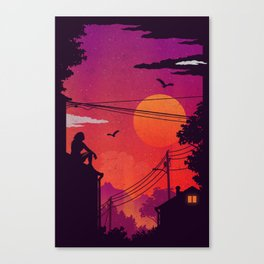 RoofTops Canvas Print