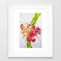 thailand Framed Art Prints featuring Thailand by Suna Sun